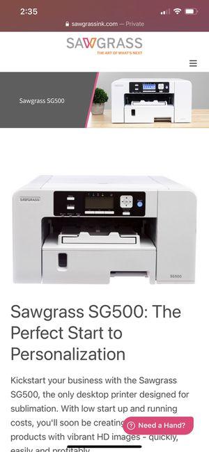 Sawgrass SG500 printer for Sale in Kearny, NJ