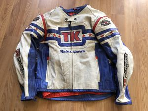 TEKNIC Motorcycle Leather Jacket Size 42 for Sale in Montebello, CA