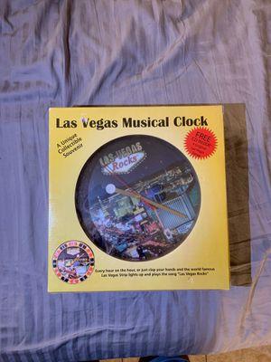 Las Vegas musical clock for Sale in Las Vegas, NV