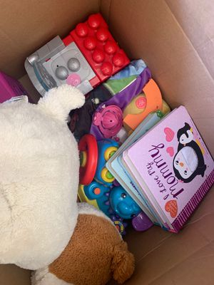 Free box of kids toys good condition for Sale in Monterey Park, CA
