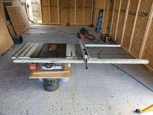 Delta 52 inch table saw for Sale in Houston, TX