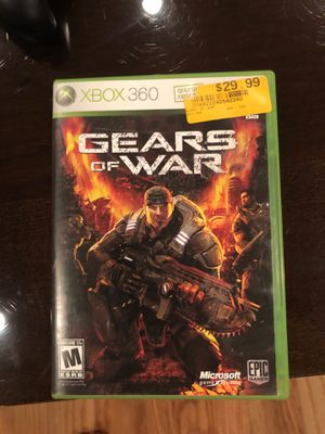 Gears of war Xbox 360 game for Sale in Dallas, TX