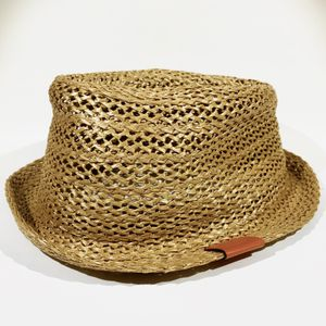 Gucci Brown Straw Trilby Fedora Hat 337801 Large L for Sale in Doral, FL