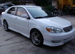 😍FOR SALE😍 2003 Toyota Corolla S FWD for Sale in San Antonio, TX