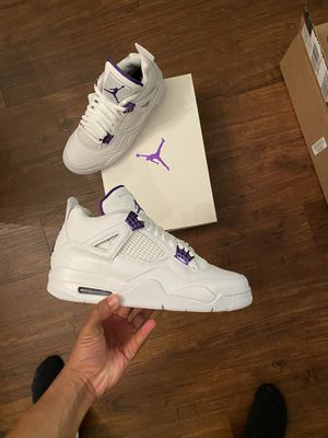 Jordan 4 Metallic Purple for Sale in Warminster, PA