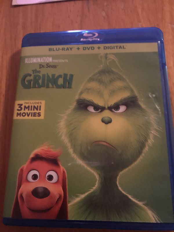 The grinch 2018 blu Ray
