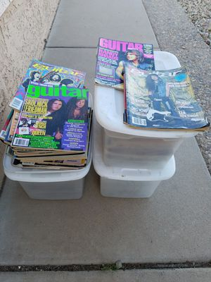 Guitar Magazines for Sale in Peoria, AZ
