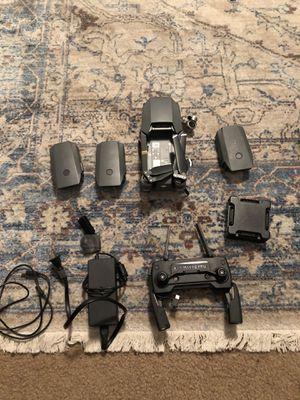 Dji mavic pro fly more combo broken camera for Sale in Boston, MA