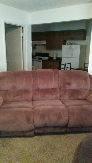 Couch as is 1 recliner still work for Sale in Murfreesboro, TN