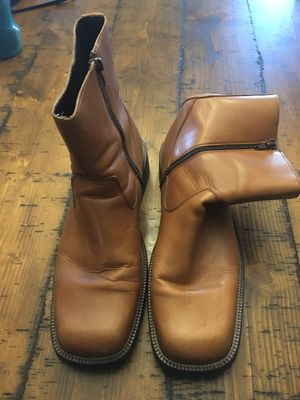 Aldo leather boots size 12 for Sale in New Castle, DE