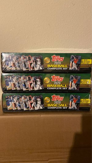 [BRAND NEW SEALED] Topps 2020 Baseball Complete Set Green Lot Of 3 for Sale in Orlando, FL