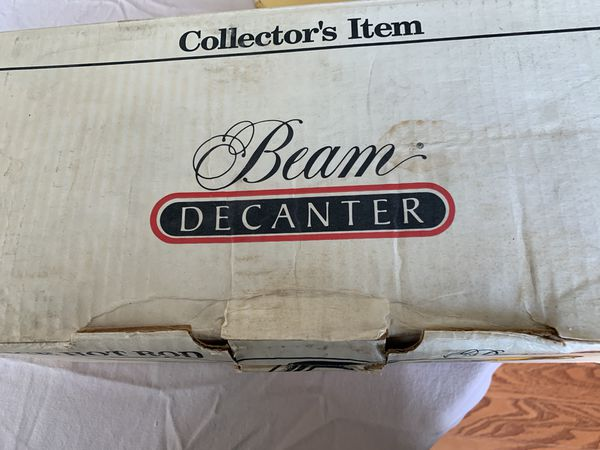"""BEAM DECANTER Trademarks """"Dodge"""", 340 Six Pack"""", & """"Challenger R/T"""""""