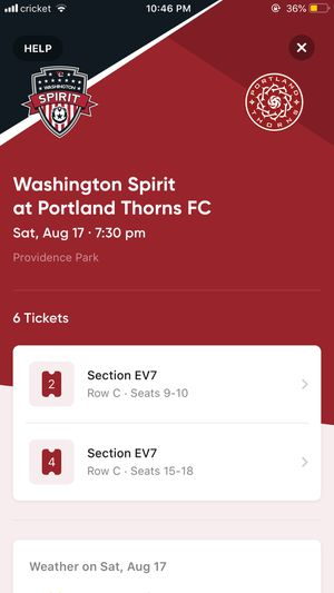 Thorns Tickets for Sale in Portland, OR