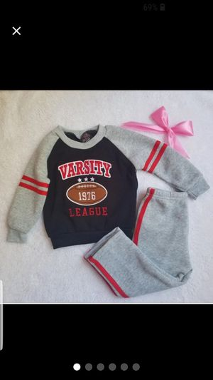 kid clothes. sweater and pants suit for for Sale in Riverview, FL