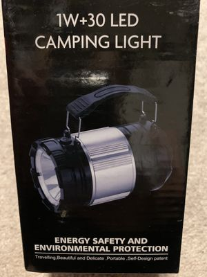 NEW 30 LED CAMPING LIGHT for Sale in Stockton, CA