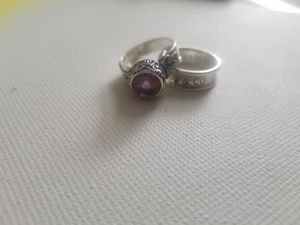 Tiffany & co silver ring/Amethyst silver ring for Sale in University Heights, OH