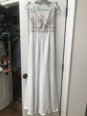 White prom dress for Sale in Washington, DC