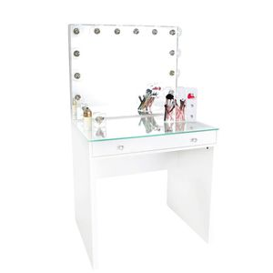 MINI MAKEUP VANITY ALL WHITE for Sale in Chino, CA