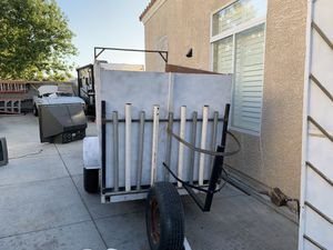 Trailer new tires ready for work open top. for Sale in Henderson, NV