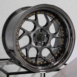 19x9.5 or 10.5 new blk chrome rims set 5x114.3 for Sale in Hayward, CA