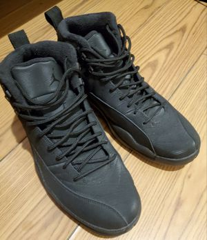 Men's Jordan 12 Retro Winter Black (Size 10.5) SERIOUS BUYER PLEASE! for Sale in Parlin, NJ