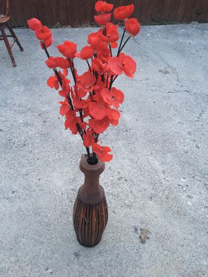 Vase with Flowers for Sale in Columbus, OH