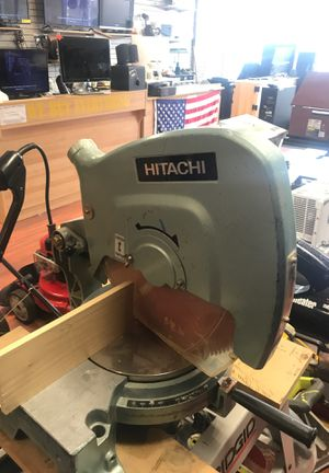 Hitachi 15 inch Miter Saw C 15fb for Sale in Ewing Township, NJ