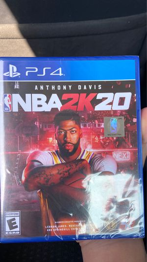 NBA 2K20 PlayStation 4 for Sale in Norwalk, CA