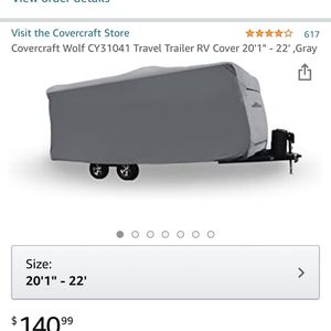 Travel Trailer Cover for Sale in Lake Elsinore, CA