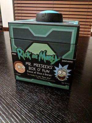 Mr. Meekseeks Box o' Fun - Board Game for Sale in Houston, TX