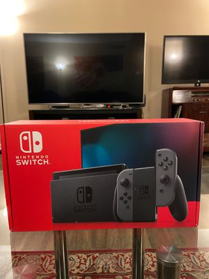 Nintendo Switch with Gray Joy‑Con 32 GB - Brand New/Factory Sealed for Sale in Detroit, MI