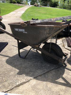 Wheelbarrow needs new tire for Sale in Irwin, PA
