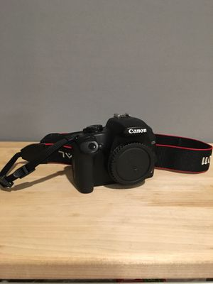 Canon EOS Rebel XS Digital SLR Camera - Black (Body Only) for Sale in San Diego, CA