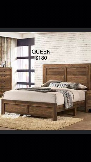QUEEN SIZE NUEVA EN CAJA / no incluye colchón / QUEEN SIZE NEW IN BOX / only bed frame for Sale in Visalia, CA