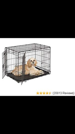"Midwest ICrate 24"" by 36"" double door dog crate. for Sale in Queens, NY"