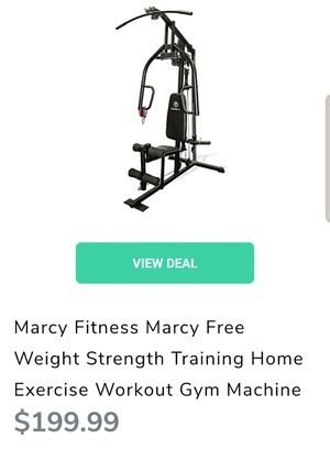 Marcy Fitness Strength Training Home Workout Gym Machine for Sale in Oceano, CA