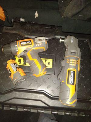 Ridgid 12v power tools for Sale in Mesa, AZ