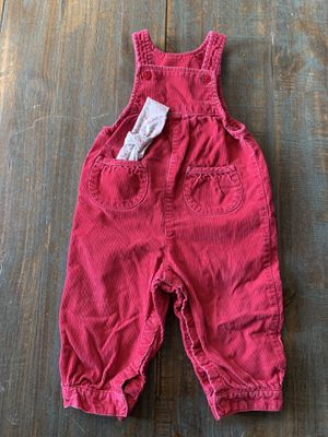 Land's End Baby Girl's Corduroy Overalls & Headwrap Set, 18 months for Sale in Centennial, CO