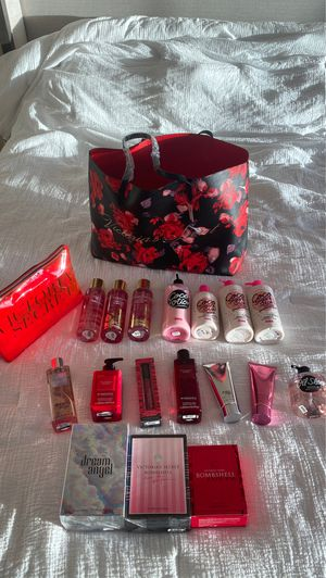 Brand New & Authentic Lot of 19 Victorias Secret & PINK Dream Angel & Bombshell Perfume/Fragrance, Spray, Coco Sugar & Spice Lotion, Body Oil & MORE! for Sale in La Mesa, CA