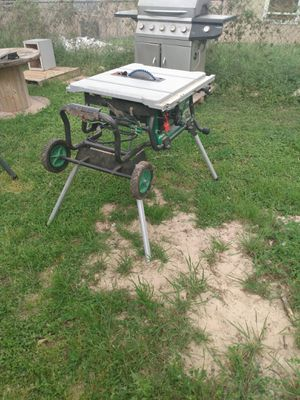 Table saw and chop saw for Sale in San Antonio, TX