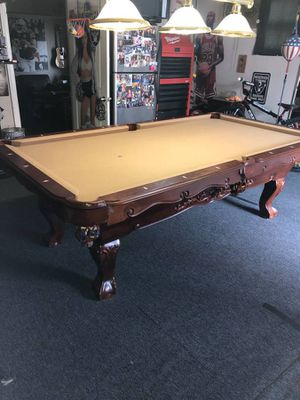 Heritage 8' Expresso Pool Table for Sale in San Jose, CA