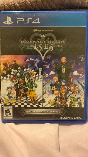 Kingdom hearts 1.5 + 2.5 ReMix PS4 for Sale in Spring Valley, CA