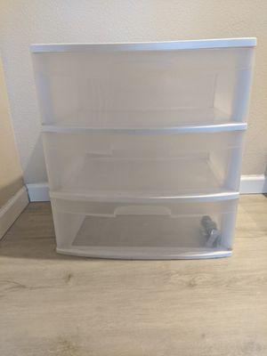 Plastic drawer storage for Sale in Corona, CA