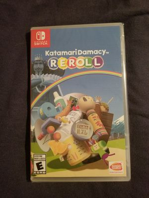 Katamari Damacy Reroll for Switch - New, Sealed in Plastic Copy, Rare Limited Game for Sale in Bradenton, FL