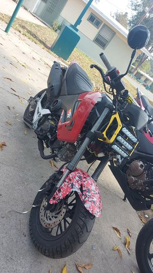 Street legal honda grom clone/vader 125cc with modifications read ad for Sale in Los Angeles, CA