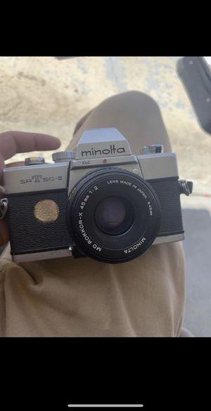 Camera Minolta for Sale in Bakersfield, CA