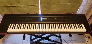 Korg Kross, keyboard stand, keyboard bench, damper pedal, paded case, music sheet stand for Sale in Las Vegas, NV