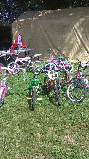 7 kids bikes 20 each for Sale in Richmond, VA