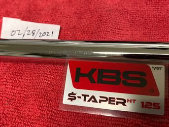 KBS $-Taper HT 125 (S+) 9i/Wedge for Sale in Kirkland,  WA