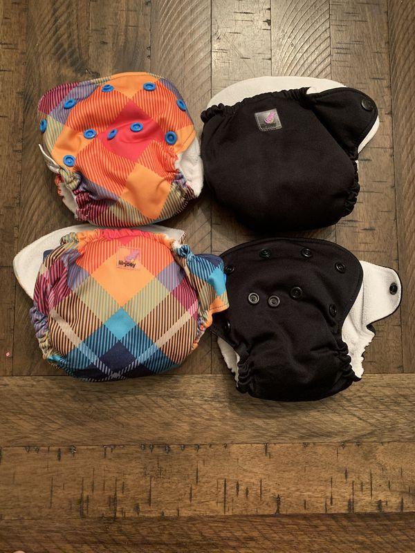 Lil' Joey Newborn Cloth Diapers